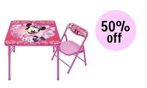 minnie mouse table set target 50 off minnie mouse table set southern savers