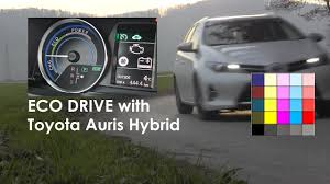 toyota auris hybrid how to drive a hybrid youtube