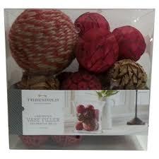 Fruit Vase Filler Red Natural Decorative Vase Filler Balls Threshold Target