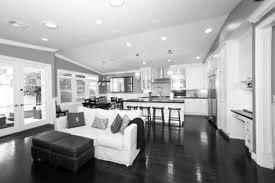 tag for open floor plan kitchens white kitchen grey flooring