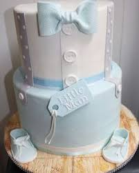 baby shower cakes boys a baby boy blue and grey baby shower cake based on a design by