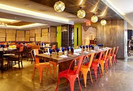 orange restaurant decoration interesting interior design ideas for