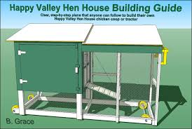 Happy Valley Hen House Building Guide Clear Step By Plans That