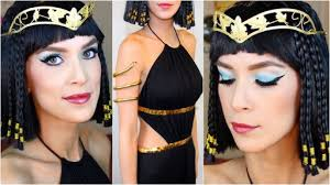 Cleopatra Halloween Costumes Adults Cleopatra Halloween Costume Makeup Step Step Diy