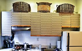 removable wallpaper for kitchen cabinets how to update your kitchen cabinets renting kitchens and walls