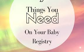 stores with baby registry 9 things you need on your baby registry meandmymomfriends