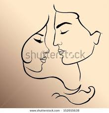 romantic couple adam eve stock vector 152655638 shutterstock