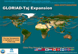 Northern Hemisphere Map Nsf U0027s Cyber Network Now Expands Across The Northern Hemisphere And