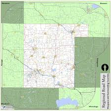 County Map Wisconsin by Map Gallery