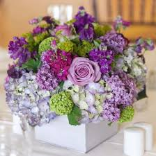 100 ideas for spring weddings centerpieces a mix of purple flowers