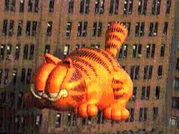 garfield balloon in the macy s thanksgiving day parade pics4learning