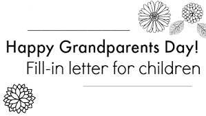 a note to grandparents for grandparents day parents scholastic com