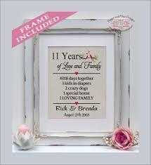 11th anniversary gifts 11 years married 11 year anniversary