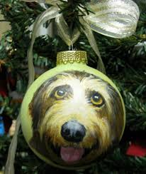 custom pet ornament animal cat portrait on