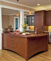 mission style kitchen island craftsman kitchen island mission style kitchens designs photos