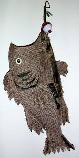 camo christmas burlap christmas fish with camo cut work 22 to 23 from