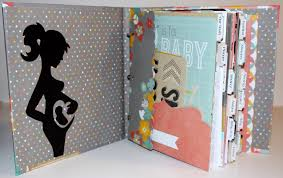 personalized scrapbook scrapbook pregnancy journal planner personalized ourmomstouch