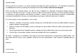 adminstrative assistant cover letter sample administrative