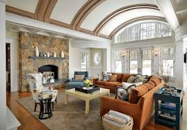 Interior Stone Arches Stone Arches Vault Ceiling Hall Rustic With Transom Chrome Wall