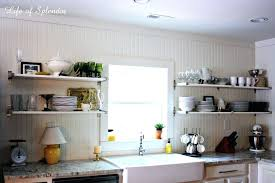 kitchens with open shelving ideas kitchen shelf ideas large size of cabinet shelves food storage