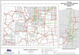 Routing Maps by Hazardous Material Release Planning For Hazards