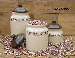 western kitchen canister sets 100 western kitchen canister sets best 25 canisters for