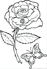 coloring pages with roses coloring pages of roses page rose easy free printable for adults