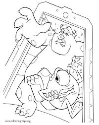 sulley coloring page 125 best disney monsters inc and monsters university coloring