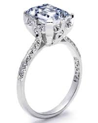 Wedding Rings by Diamond Engagement Rings In All Shapes And Sizes Martha Stewart