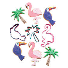 tropical cookie cutters set of 3