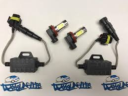 for vw t6 led fog light bulbs u0026 resistors canbus error free brand