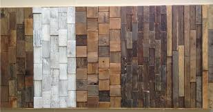 reclaimed wood wall tiles floor decoration ideas