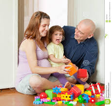 easter plays for kids happy parents plays with child stock photo image of domestic