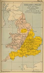 Map England by Historical Maps Of The British Isles