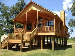 House Plans For Small Cottages Live In A Flood Plain No Problem Build Your House On Stilts