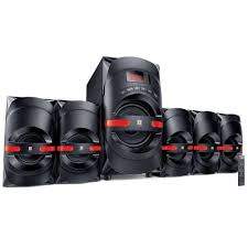 intex 5 1 home theater speaker system amazon in buy intex 5 1 computer m m speaker vogue it 465 suf