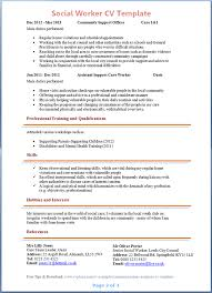 social worker cv template tips and download u2013 cv plaza