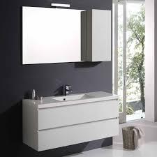 armadietto bagno con specchio mobile arredo bagno 120 cm con specchio e pensile kv store