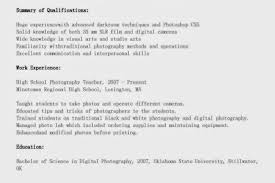 Photographers Resume Sample by Operations Specialist Resume Addendum Addendum To Resumes Addendum