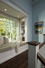 Built In Bookshelves With Window Seat 7 Window Nooks You Will Want To Cozy Up To This Fall Huffpost