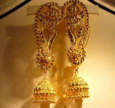 bengali gold earrings earrings buy in new delhi