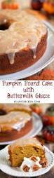 pumpkin pound cake with buttermilk glaze pumpkinlicious