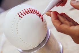 world series vanilla baseball cake with ball park snacks vanilla