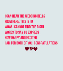 congratulations on wedding card best 40 wedding card messages for just married