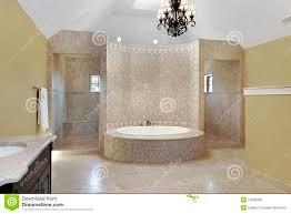 vasca da bagno circolare bagno matrice con il bagno circolare immagine stock immagine