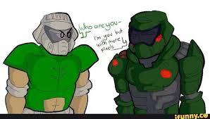 Doom Guy Meme - vrutal doomguy del pasado y del futuro