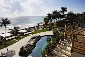 tulum mexico boutique hotels places to visit pinterest