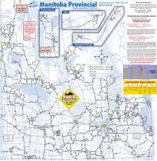 Snowmobile Trail Maps Michigan by Manitoba Maps Canada Maps Of Manitoba