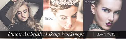 hair and makeup classes airbrush makeup classes dinair workshop with on