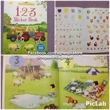 sticker the stickers sticker tiao anh cho usborne farmyard tales